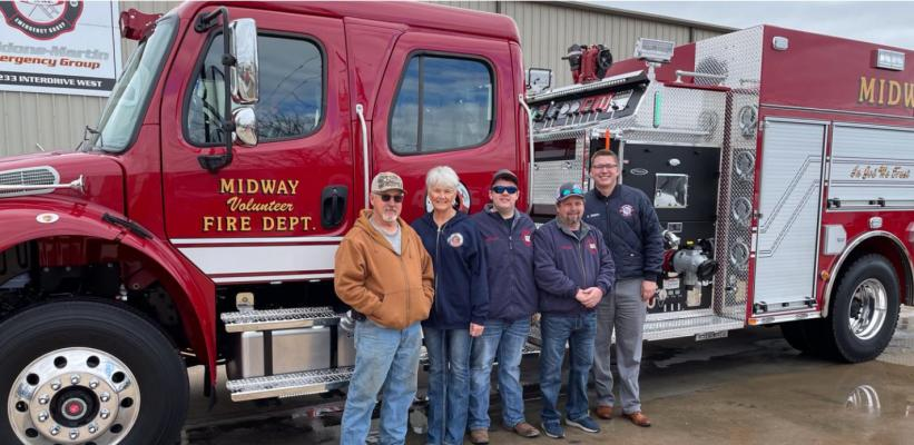Midway VFD acquires engine